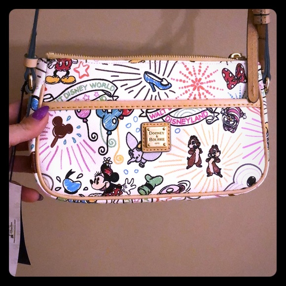 Dooney & Bourke Handbags - Authentic Dooney & Bourke crossbody Disney bag